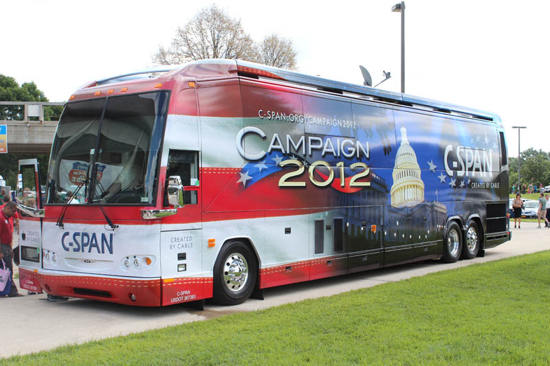 C-SPAN 2012 Election Bus